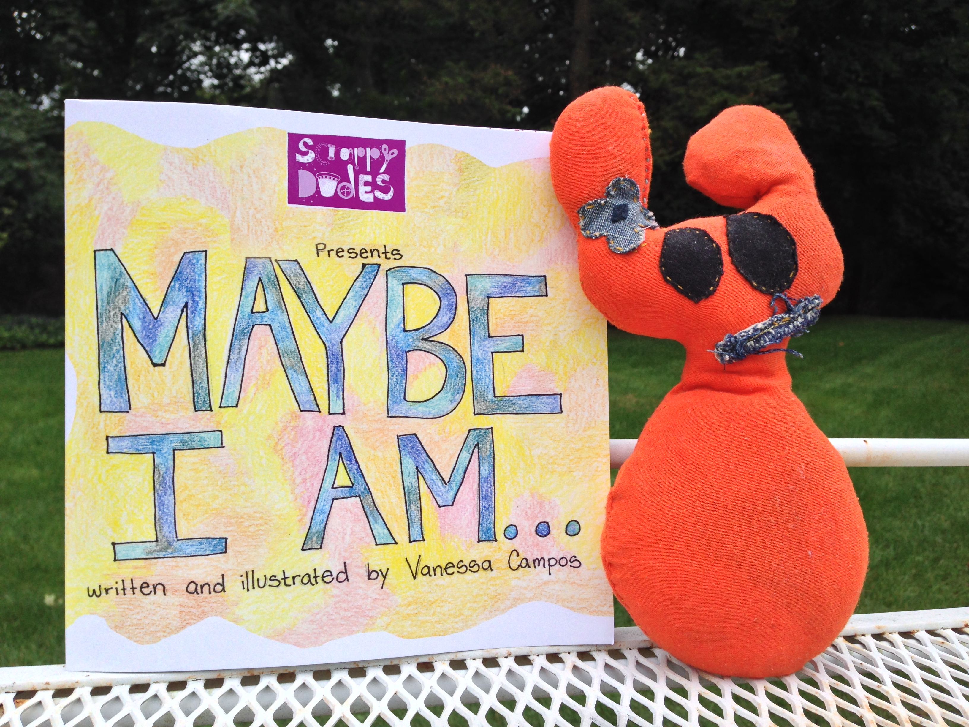 "Lenox's friend is in ""Maybe I Am…""!"