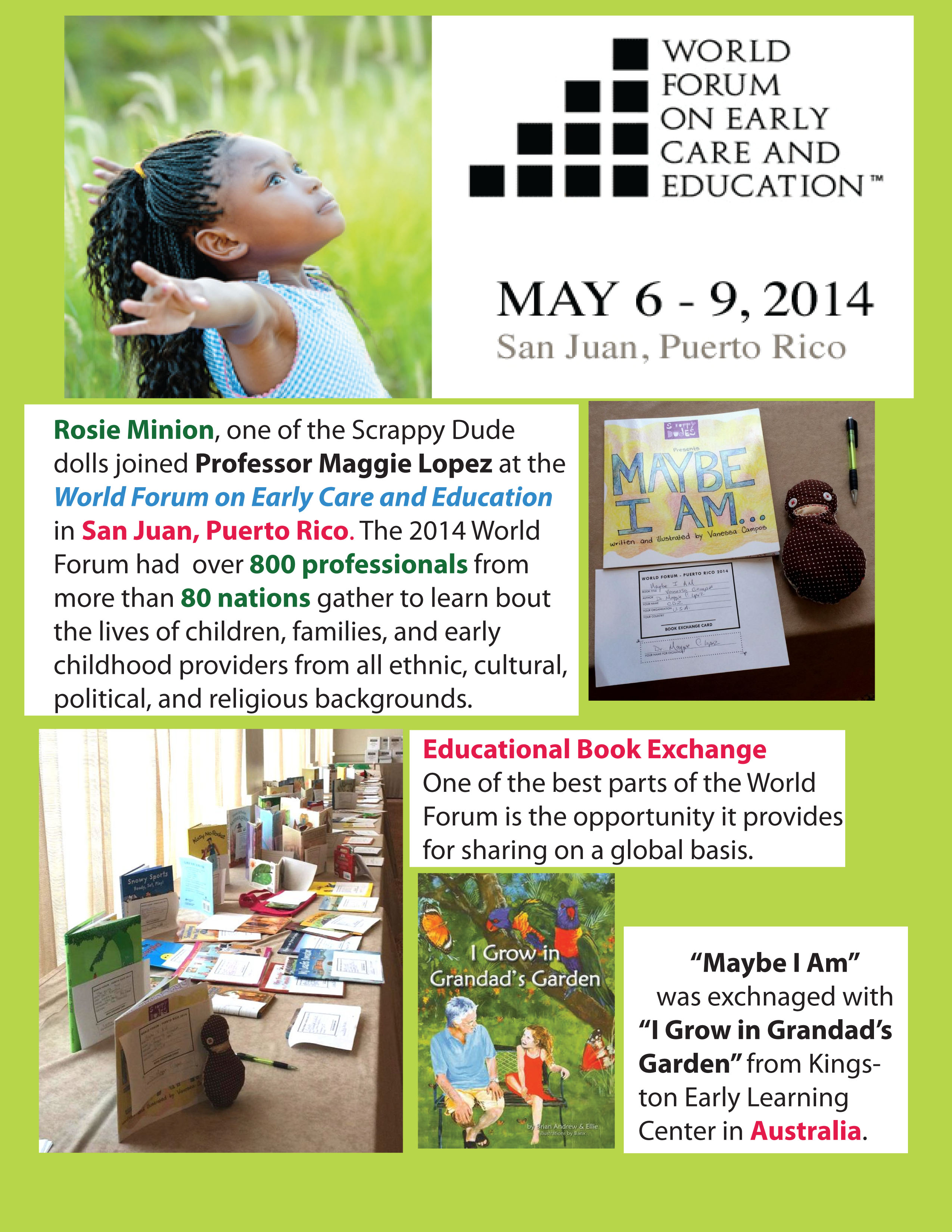 World Forum on Early Care & Education: Book Exchange