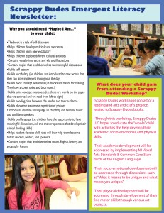 Emergent Literacy Newsletter