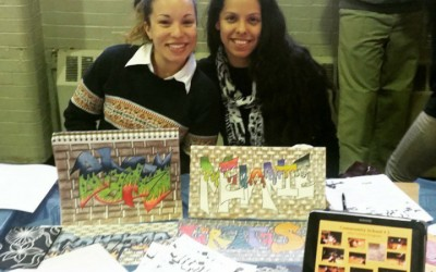 Scrappy Dudes Partners with Art in Motion Inc. to bring a Graffiti Arts Program to Eastside High School