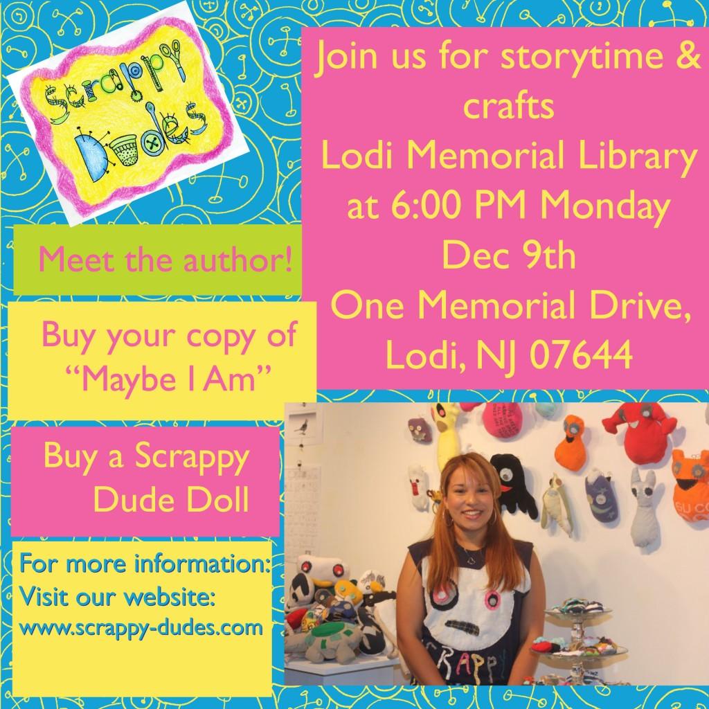 Lodi Library Flyer 120913