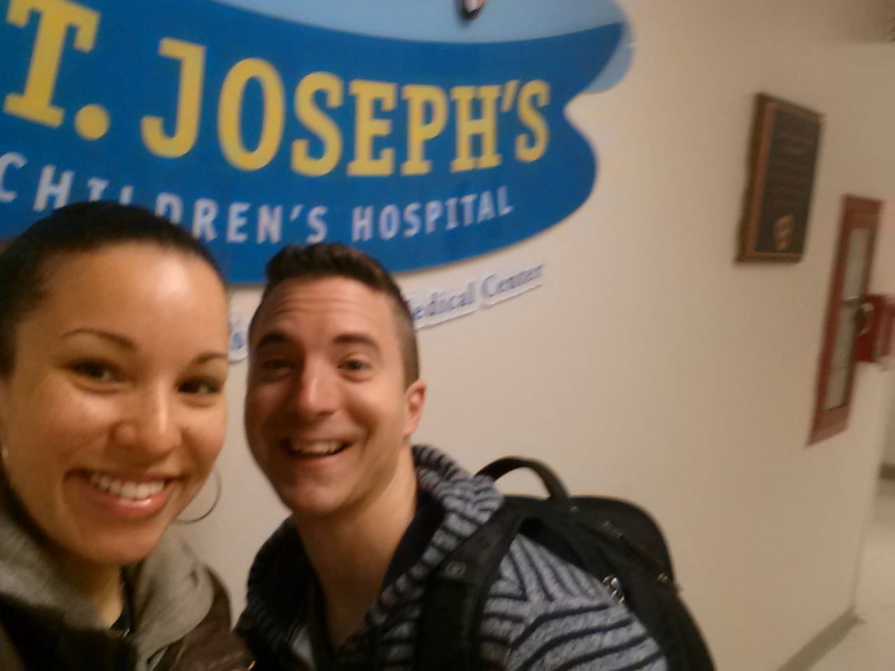 Giggles Theater Performance at St. Joseph's Hospital