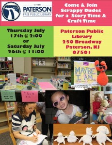 Paterson Library Readings Flyer